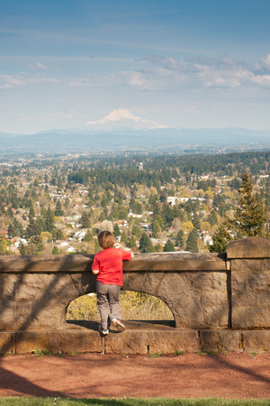 A photograph taken at Rocky Butte