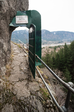 A photograph taken at Beacon Rock