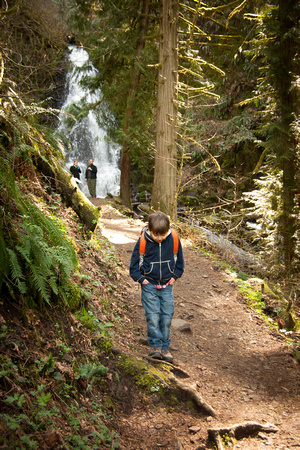 A photograph taken at Wahkeena and Fairy Falls
