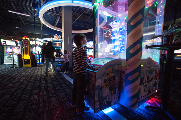 A photograph taken at Dave and Buster's