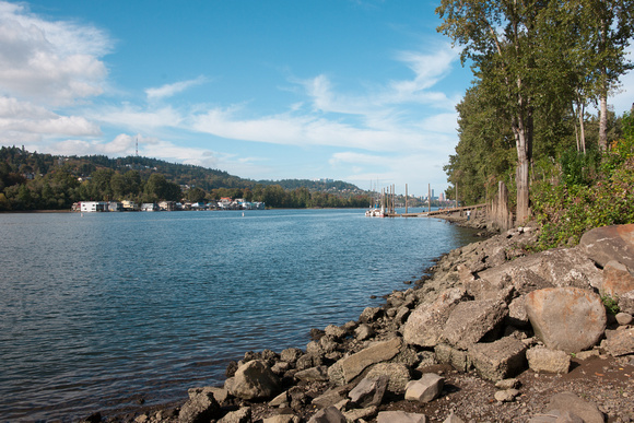 A photograph taken at Sellwood Riverfront Park