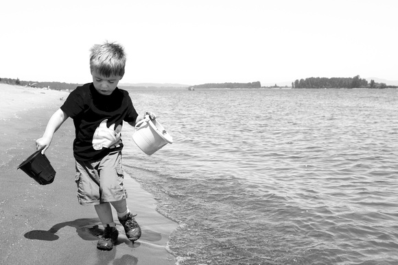 A photograph taken at The beach on Sauvie Island