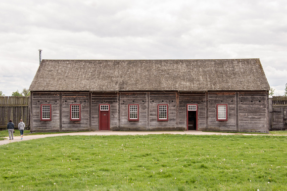 A photograph taken at Fort Vancouver