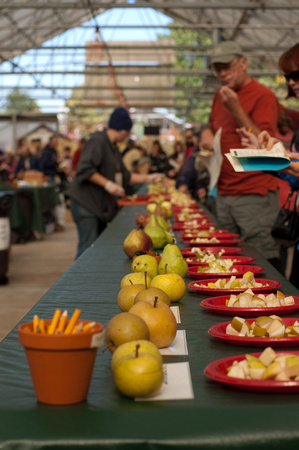 A photograph taken at Apple Tasting at Portland Nursery
