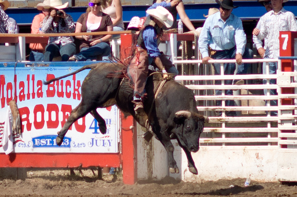 A photograph taken at Molalla Buckeroo Rodeo