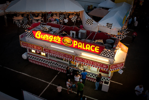 A photograph taken at Oregon State Fair